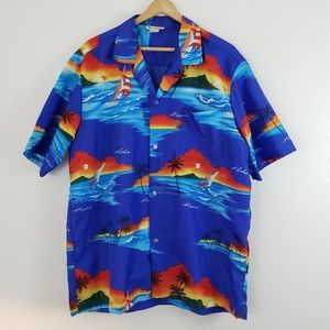 Vintage aloha Hawaii shirt